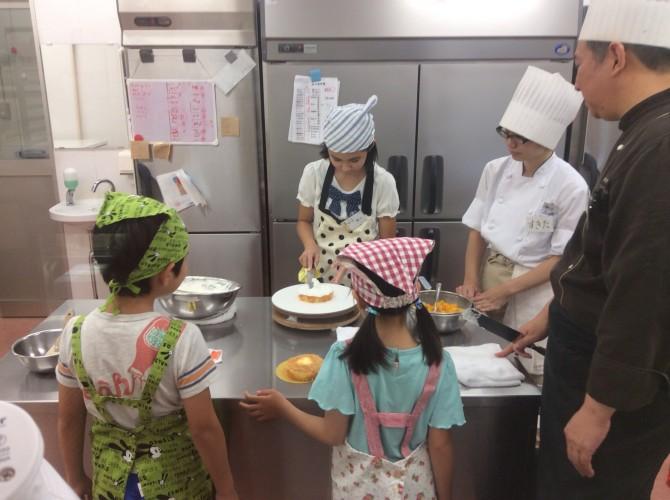 ケーキ教室