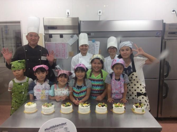 ケーキ教室完成