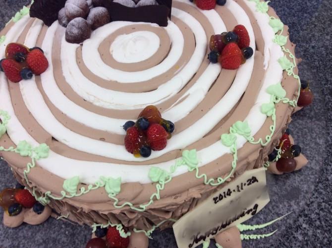きりかぶケーキ