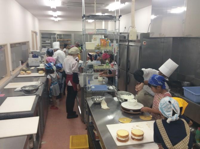 ボンブケーキ教室2016